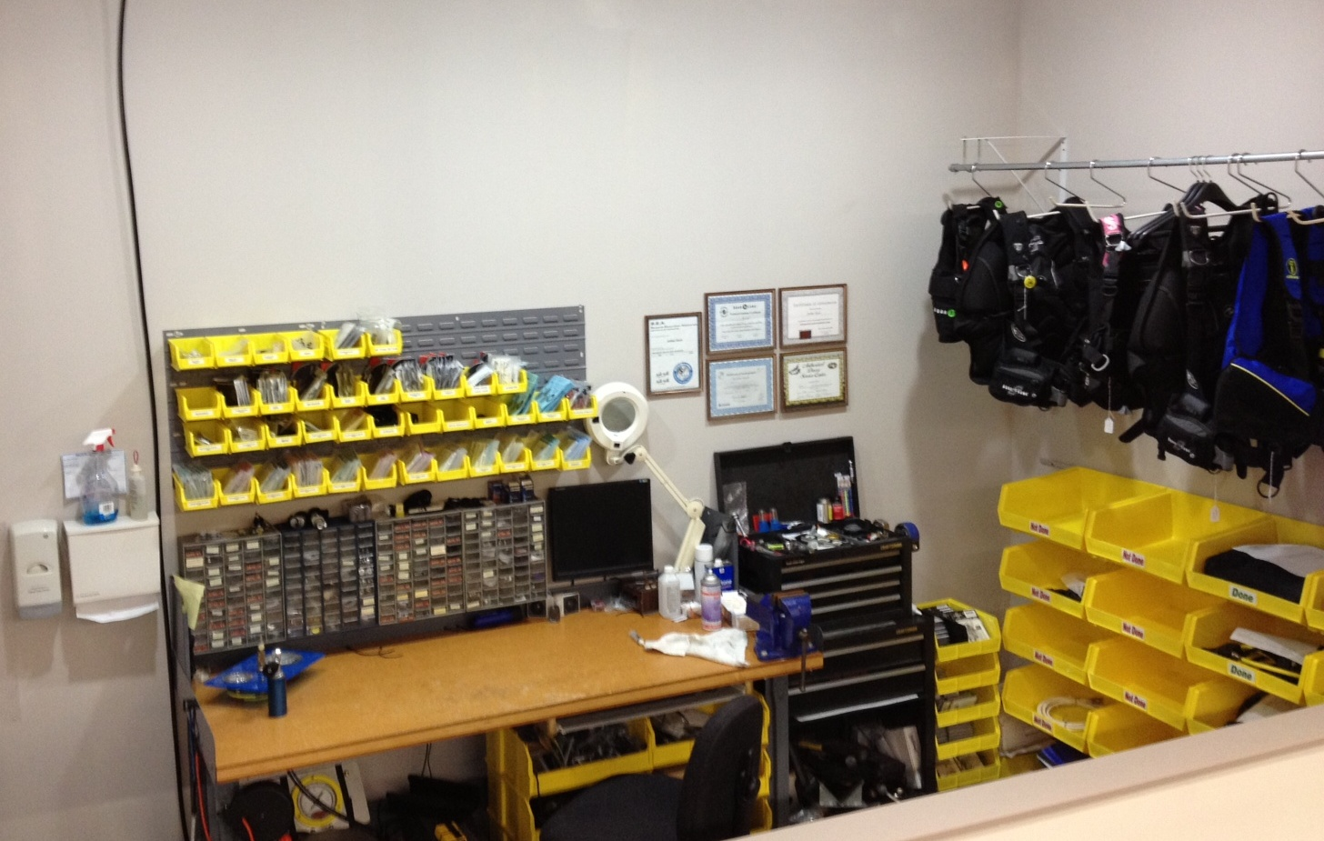 Sea Level Diving Equipment Service Center