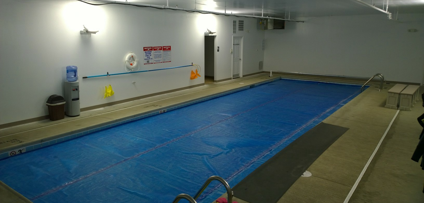 scuba shop indoor pool
